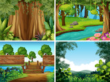 A set of nature landscape - 221315358