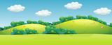 A beautiful green landscape - 221315519