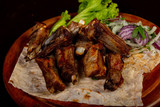 Grilled Mutton ribs - 221324327