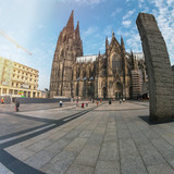 People visiting the Cologne Cathedral  - 221344714