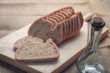Spelled wheat bread