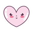 kawaii cute heart facial expression