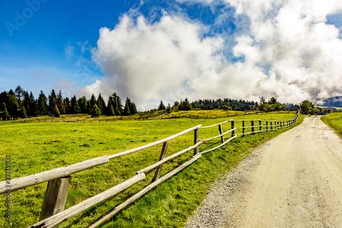 Turystyka krajobraz w Południowym Tyrolu