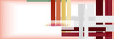 Color stripes and lines, geometric abstract background - 221391303