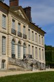 Villarceaux; France - july 28 2018 : historical castle - 221393301
