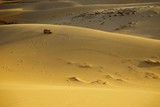 Sand mountains in the desert - 221397965