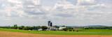 Panorama of Rural American Farmland - 221407180