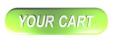 YOUR CART green push button - 3D rendering - 221410100