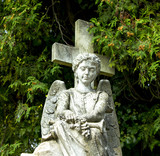 Angel on the cemetery - 221412789