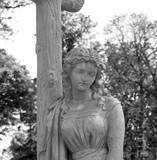 Virgin Mary under the cross - 221414309