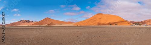 Foto Murales Sossusvlei Namib Desert, in the Namib-Naukluft National Park