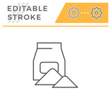 Concrete pack line icon - 221425725