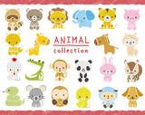 動物のセット 手描き風 - 221427910