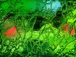 Leinwandbild Motiv abstract glass texture