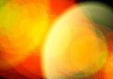 Lichtspiel Hintergrund Gelb Orange - 221468740