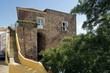 Leinwanddruck Bild - Historisches Gebäude, Silves, Portugal