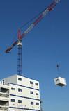 Installation d'un élément d'une construction modulaire - 221481584