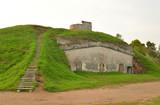 Fort Shants on the island of Kotlin in Saint Petersburg, Russia. - 221487541