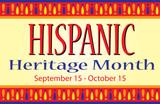 Hispanic Heritage Month  - 221489397