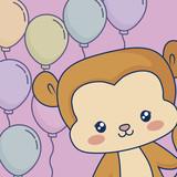 kawaii animals design - 221507729