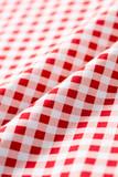 赤いチェックの布地 - 221522506