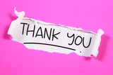 Thank You, Motivational Words Quotes Concept - 221523172