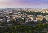 Bucharest cityscape at sunset. Romania - 221553563
