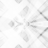 Abstract architecture background. 3d rendering