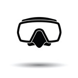 Icon of scuba mask - 221559933