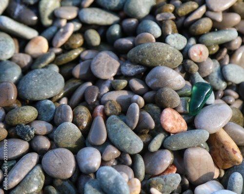 Glass on the stones  - 221559969