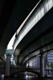 under highway in Tokyo
