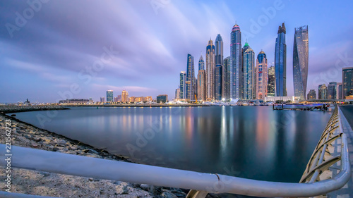 Dubai Marina Another Sunrise