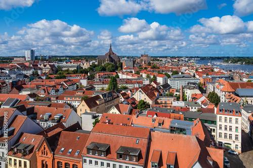 mata magnetyczna Blick auf die Hansestadt Rostock