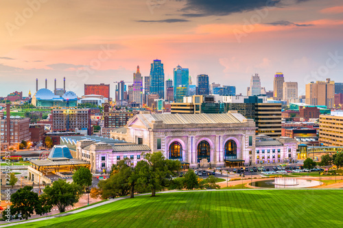 Kansas City, Missouri, USA Skyline