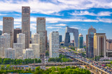 Beijing, China Financial District Cityscape - 221577199