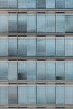 Facade blue office building - 221578160