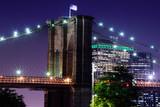 A view of the Brooklyn Bridge. - 221585515