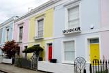 Maisons colorées pastel à Camden - 221588396