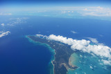 Caribbean Islands with blue and turquoise waters - 221601933