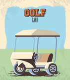 golf cart in the club - 221603767