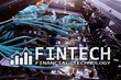 Fintech - Financial technology. Business solution and software development.