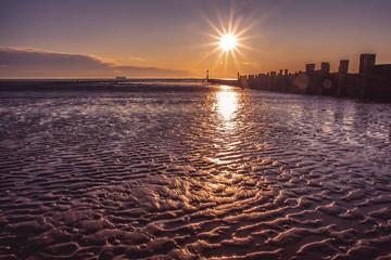 Sunrise at the Groynes