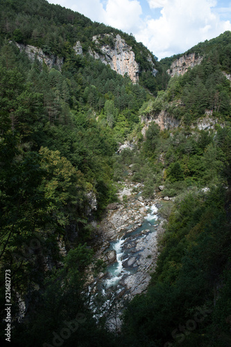 Waterfall in deep forest - 221682773