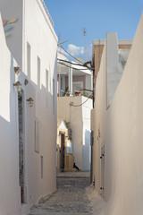 ruelle à Santorin © Casseb