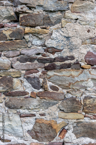 Fototapeta Stone wall for use as a background