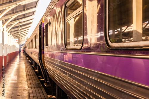 Fototapeta Train at the station