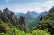 Bergpanorama in den Huangshan Bergen