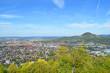 Leinwanddruck Bild - Panorama Reutlingen