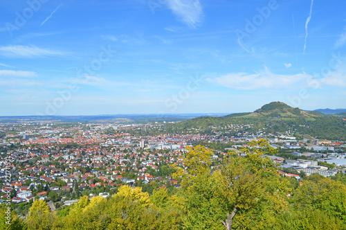 Leinwanddruck Bild Panorama Reutlingen