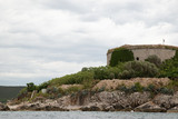 mamula fortes at island in montenegro - 221718938